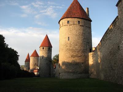 Tallinn city wall
