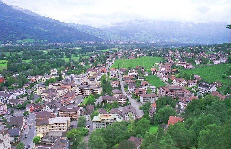 Modern Rebuilt Vaduz