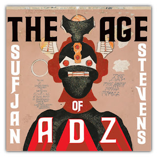 Sufjan Stevens The Age Of Adz Album Art evasee Sufjan Stevens   The Age of ADZ (2010)
