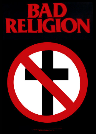Bad Religion 51071~Bad-Religion-No-Cross-Posters
