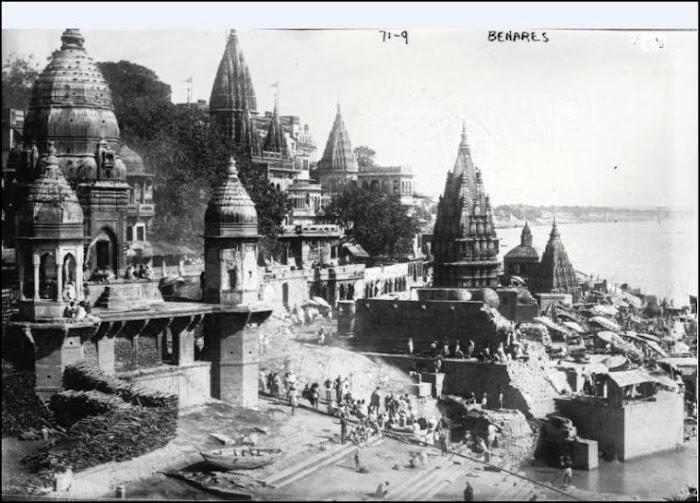 Benares India Circa 1922