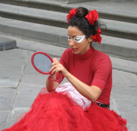 A Mime in Florence in 2006
