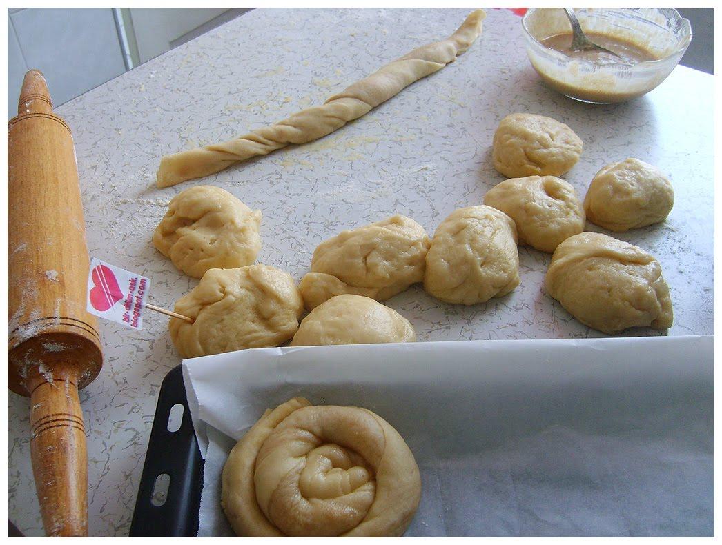 Tahinli fındıklı çörek tarifi(resimli anlatım)