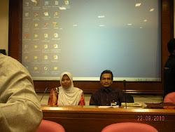Bersama Ahmad Sabri di INGRAW 5th 2010