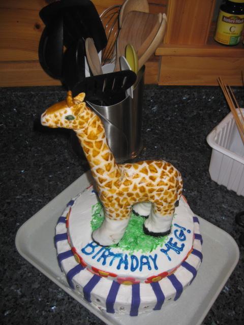 FR3H cupcakes etc Giraffe Cake