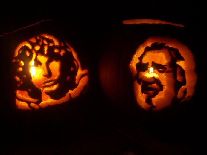 Our 2007 Halloween Pumpkins