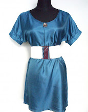 A 1074 - Green top, free size (belt not included)