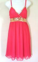 A 1033 - Pink dress (Size S, M)