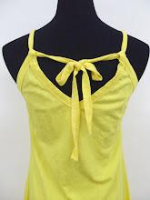 A 1011 - Plain cotton dress (back view)