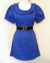 A 1170 - Blue top (belt not included), can fit size S,M
