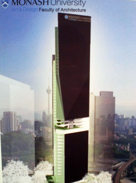 Patchay Com Monash To Build Tallest Campus In Kl Sentral