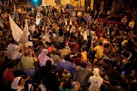 Concentración de solidaridad con el pueblo Saharaui – 08/11/10