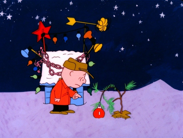 In A Charlie Brown Christmas (The best Christmas special ever,