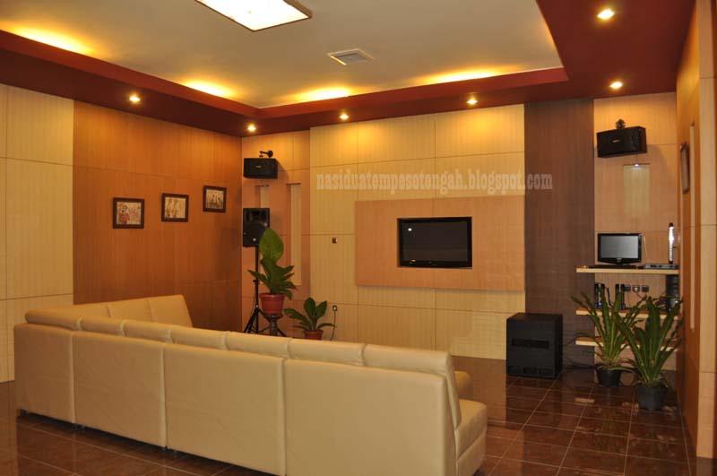 Desain Interior Ruang Karaoke Keluarga