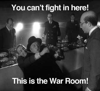It S The War Room Strangelove