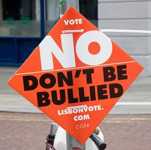 standing up to EU bullies!