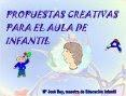 PROPUESTAS CREATIVAS