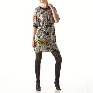 Rene Derhy printed dress