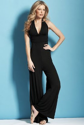 halterneck jumpsuit