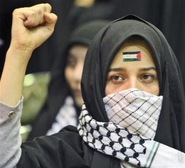 Gaza+fille+voil%C3%A9e