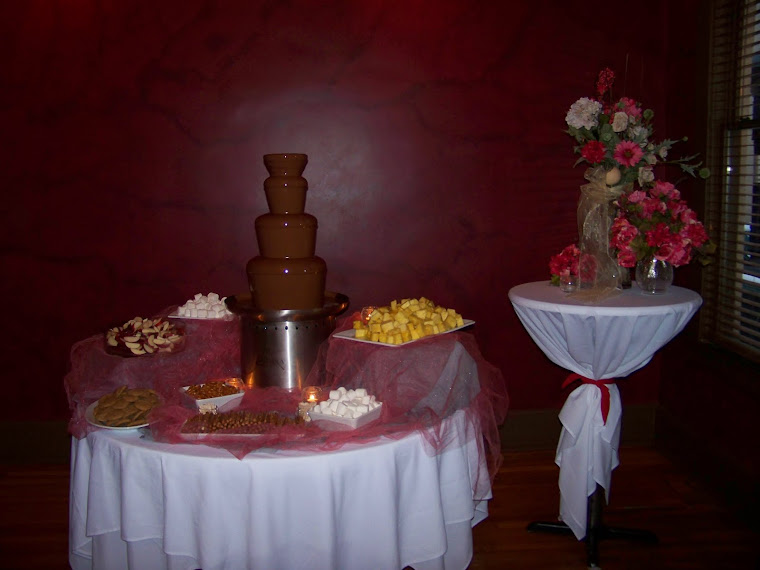 Chocolate Fountain for Valentines Day
