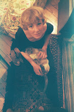 Toni with Kim her Siamese Cat