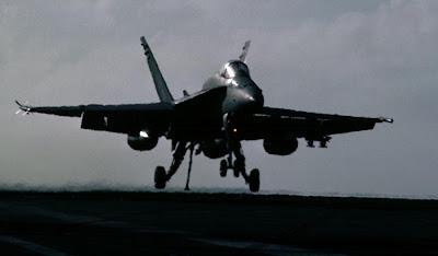 F-18 Hornet landing wallpapers