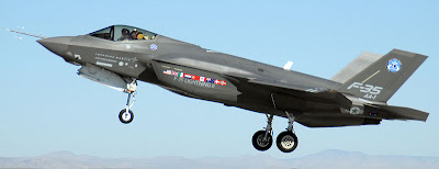 F-35 Lightning II military fighter aircraft