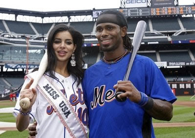 Miss USA Rima Fakih is a Met fan