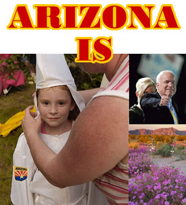 Arizona is the most racist state