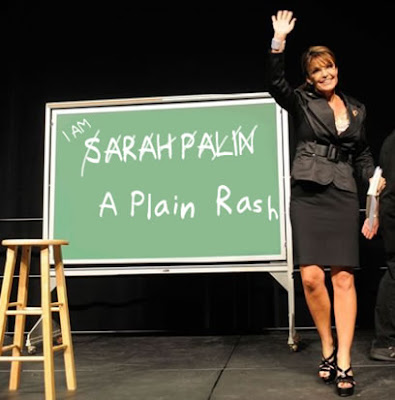 Sarah Palin is rash backwards
