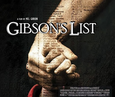 funny mel gibson photo Gibson's List movie poster