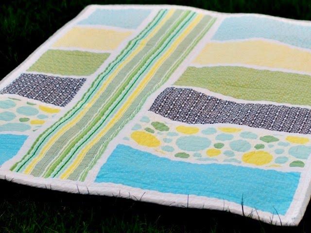 Bijou Lovely Lovely Designs Modern Baby Quilt
