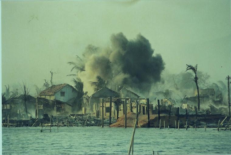 Air strike. Phan Thiet