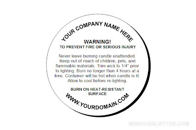Gutsy image pertaining to free printable candle warning labels