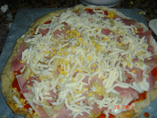 pizza de york y queso