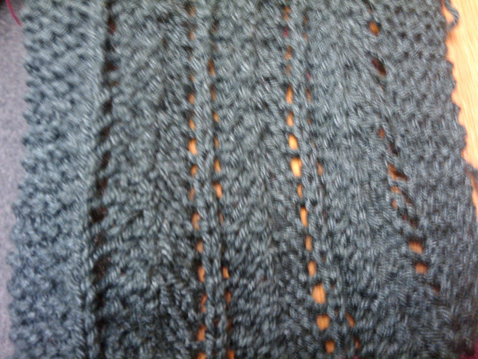 Knitting Increase Stitches Purl Row : . Knit So Simple: New Stitch Knitch