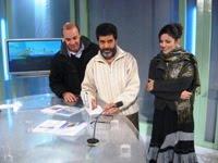 في التلفزيون الجزائري
