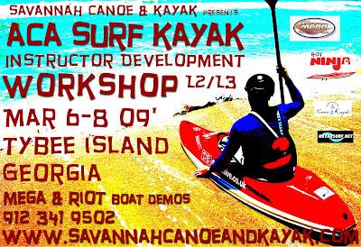 Savannah canoe and kayak surf flier