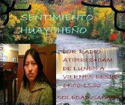SENTIMIENTO HUAYCHEÑO