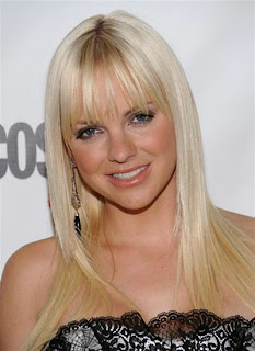 Anna Faris Sleek Hairstyle