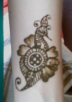 henna jewel for the wrist