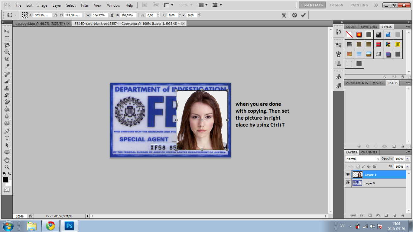 How To Make A Fbi Id Card Software And Games