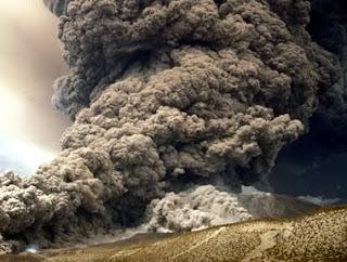 Volcano Eruption in Europe