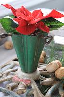 Juletrefot til blomster eller til stearinlys