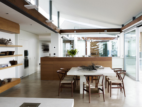 Modern Organic Home By John Kraemer Sons In Minneapolis Usa: LIVING IN MODERN FASHION
