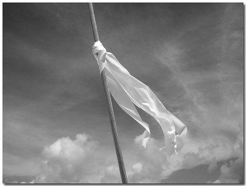 MySimpleLittleCorner: ...is Waving A White Flag
