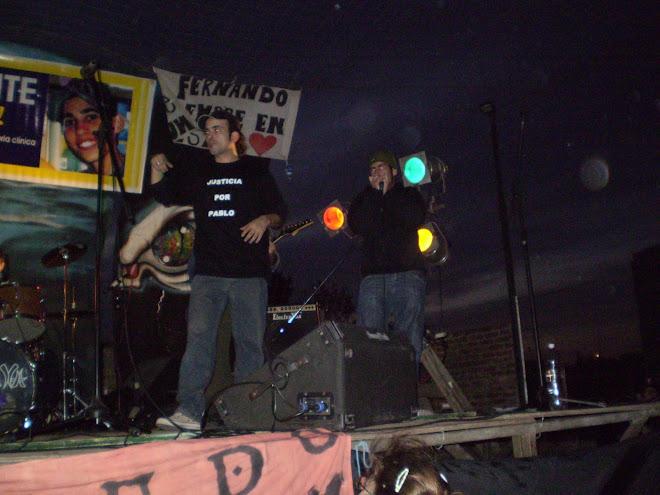 """En vivo en Festival """"Justicia por Pablo"""""""