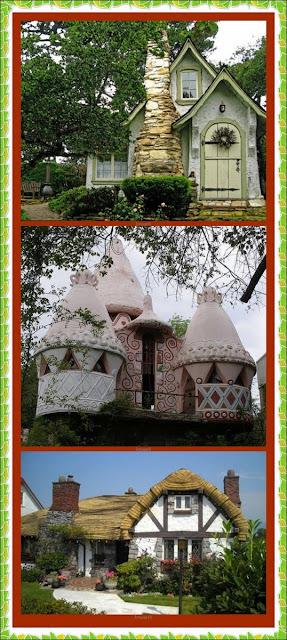 Bruxa rose casas de fadas existem - Casas en roses ...