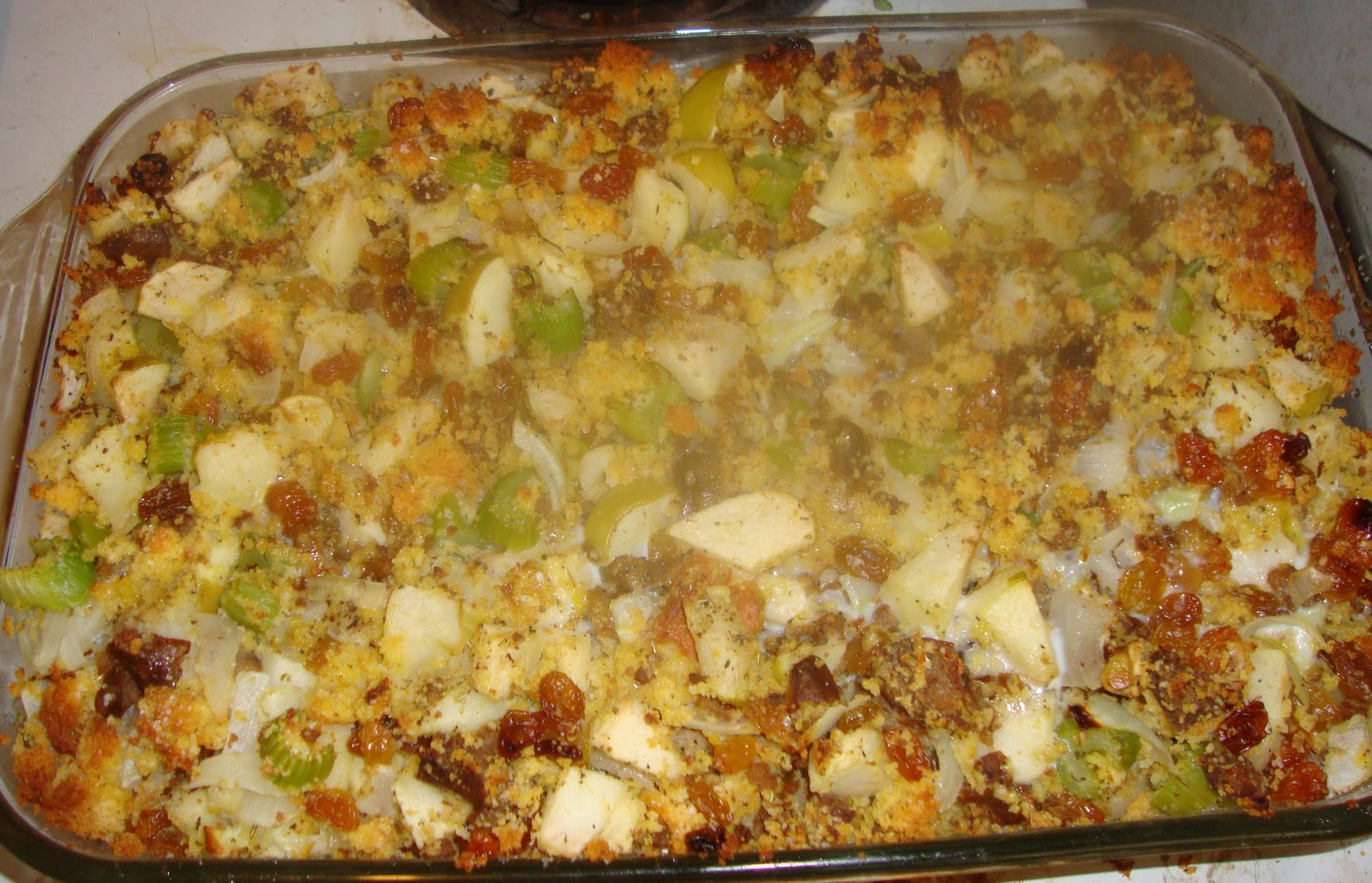 The Love Birds Cafe: Sourdough Stuffing With Sausage ...